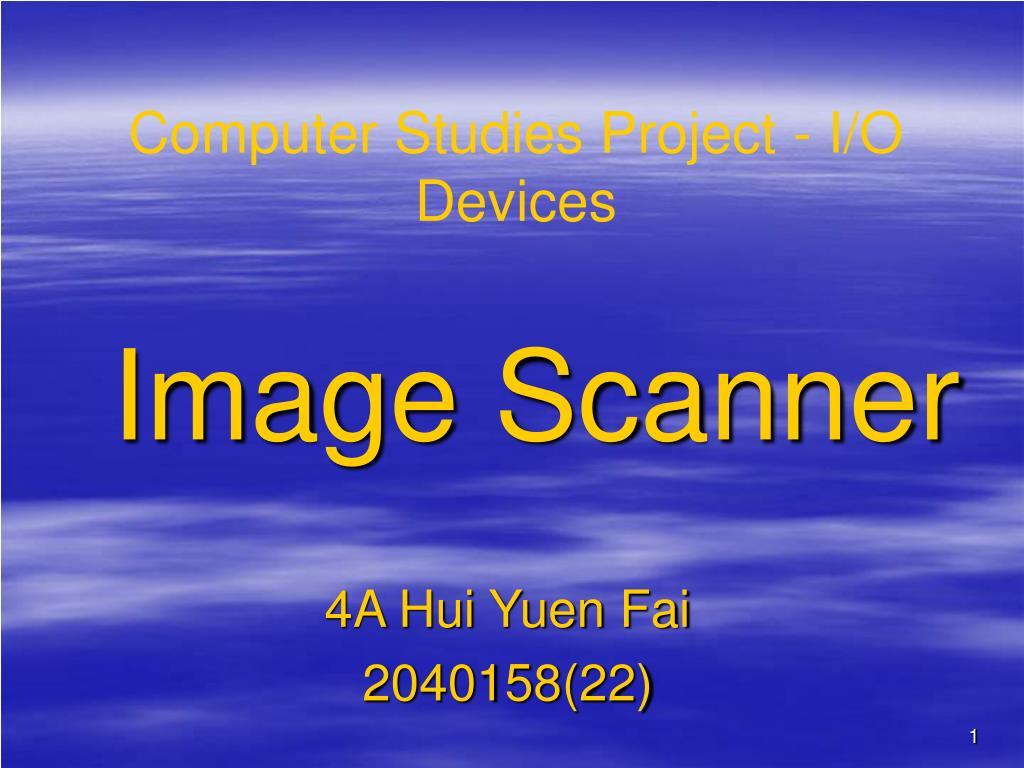 image scanner l.