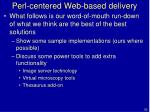 perl centered web based delivery56