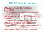 ibm pc open architecture