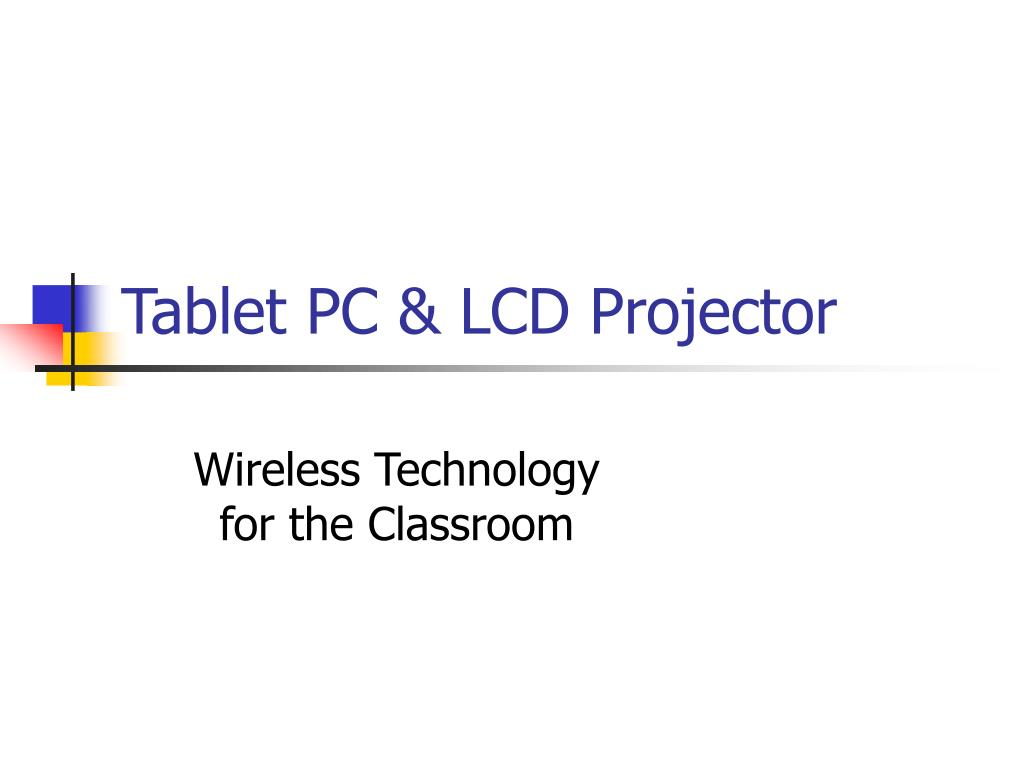 tablet pc lcd projector l.