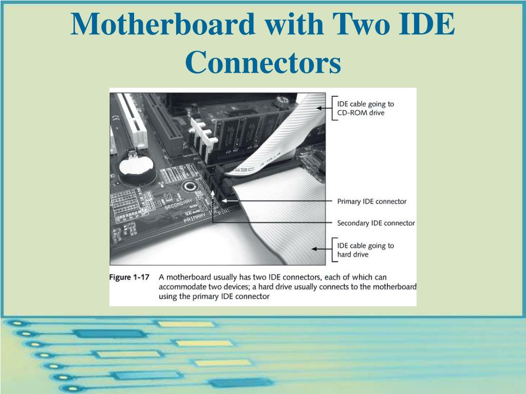 Motherboard with Two IDE Connectors
