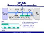 vif data compression decompression