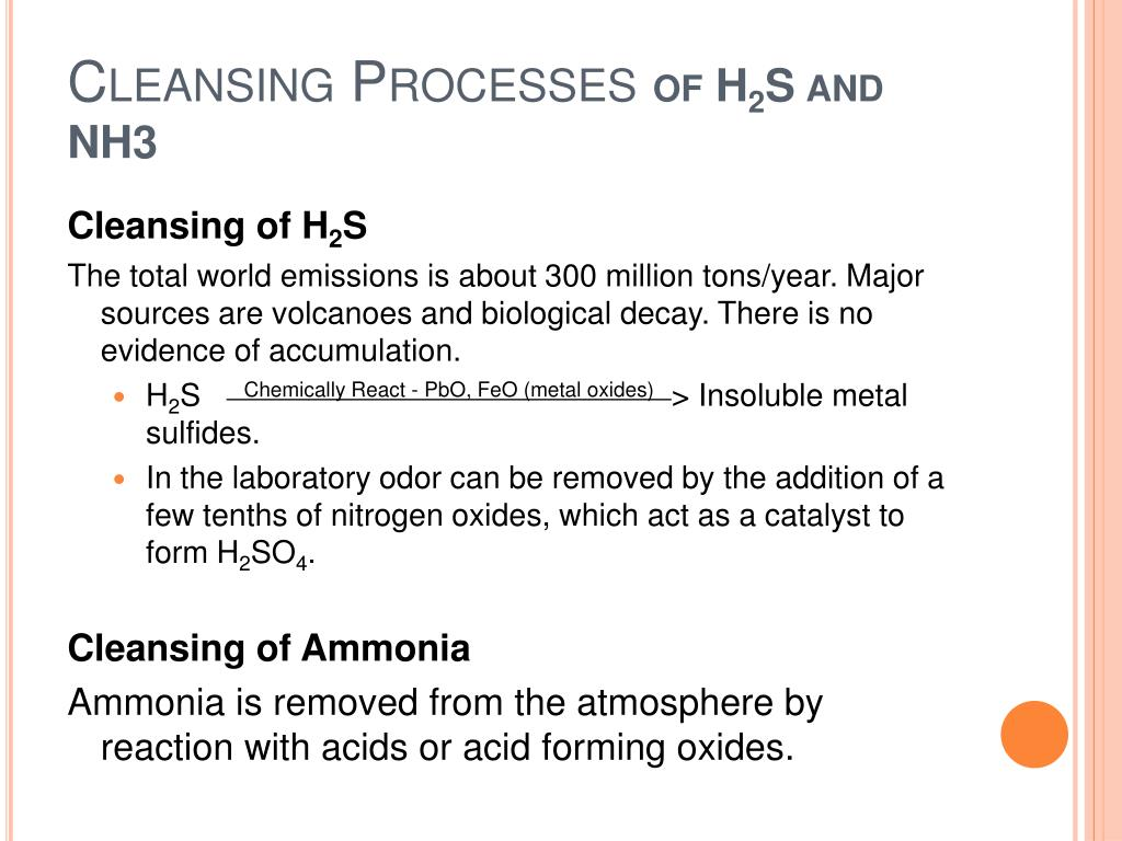PPT - Natural Cleaning Process of the Atmosphere PowerPoint