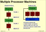 multiple processor machines