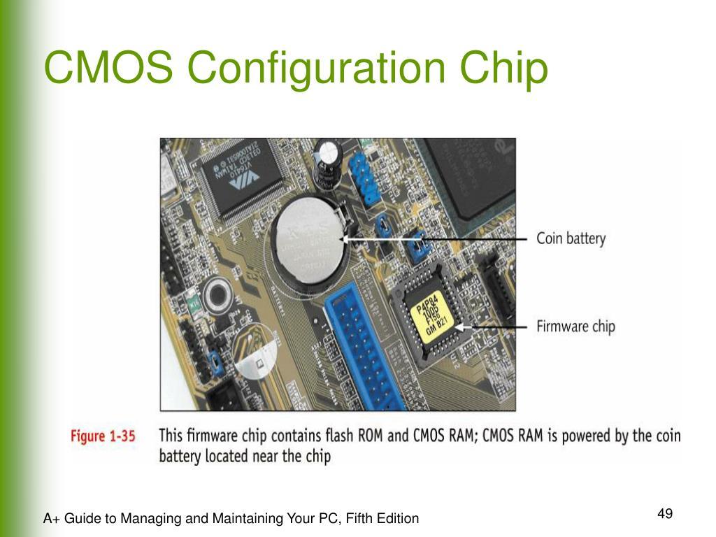 CMOS Configuration Chip