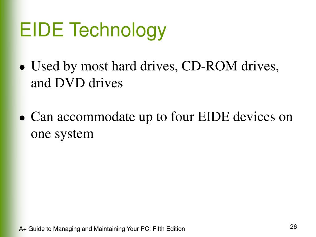 EIDE Technology