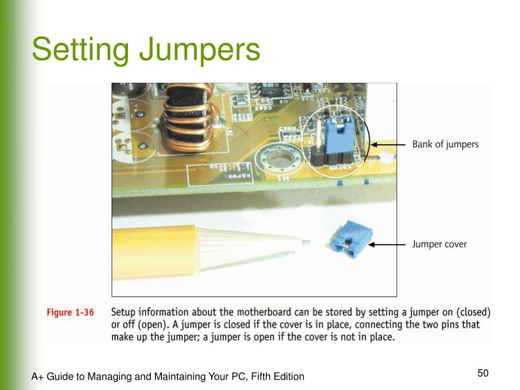 Setting Jumpers