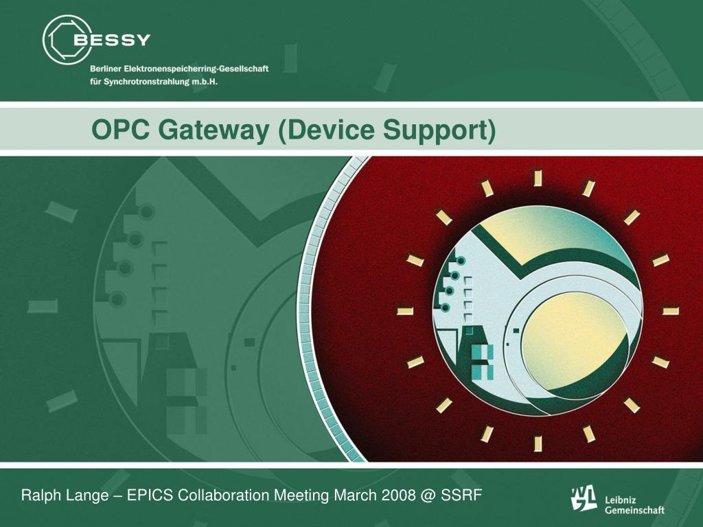 opc gateway device support l.
