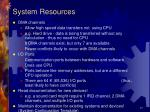 system resources17