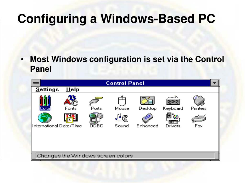 Configuring a Windows-Based PC
