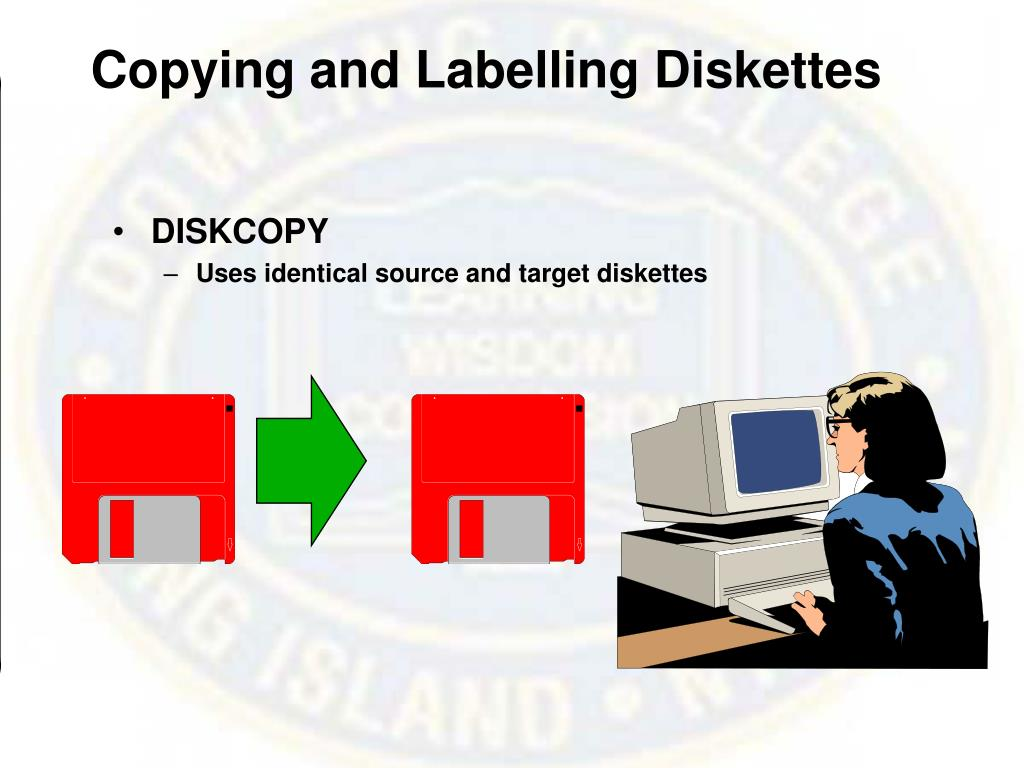 Copying and Labelling Diskettes