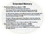 extended memory