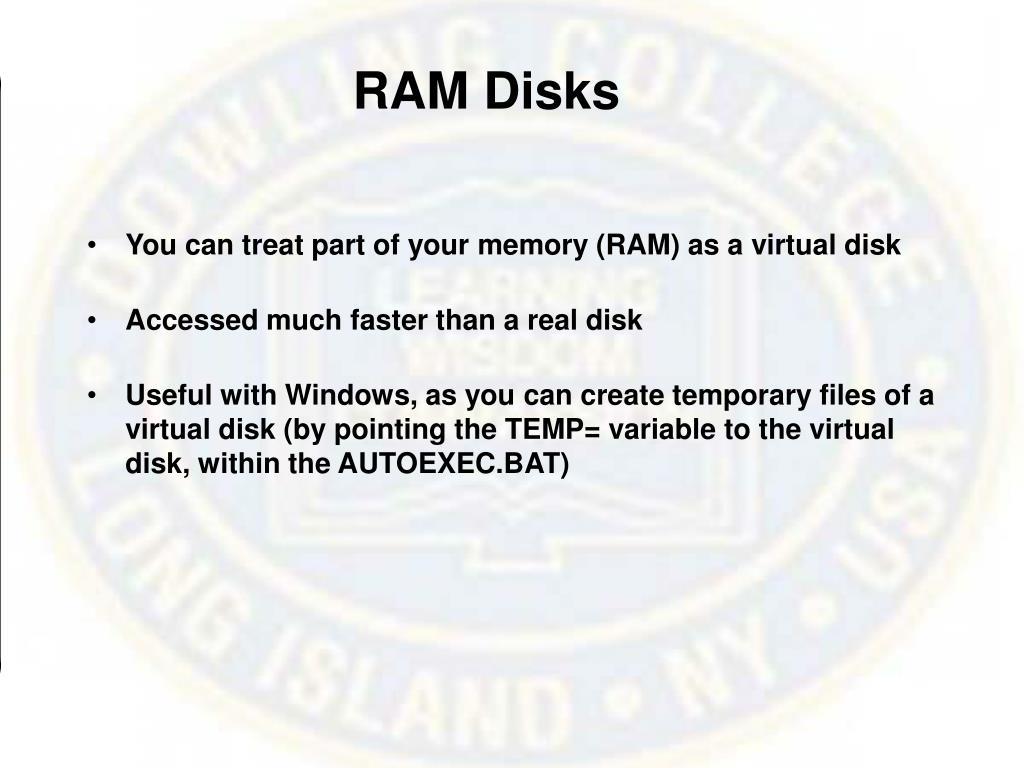 RAM Disks
