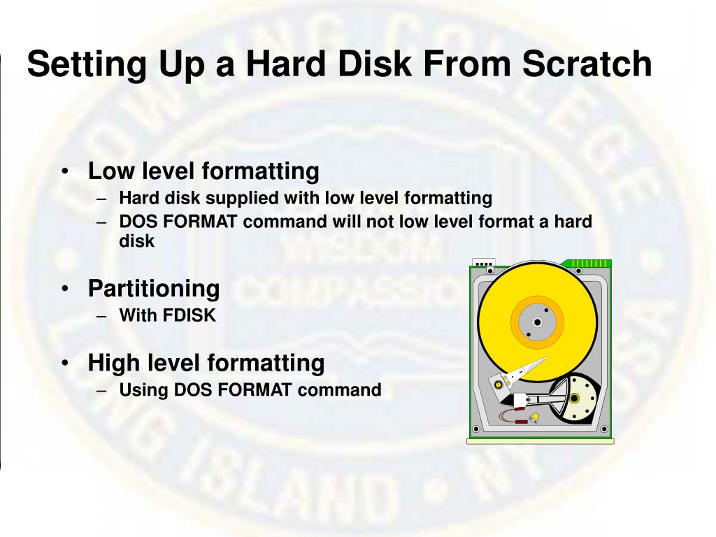 Setting Up a Hard Disk From Scratch