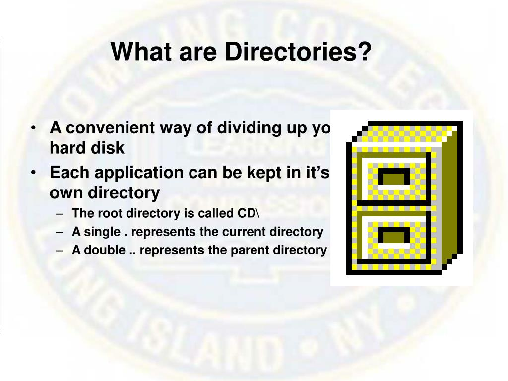 What are Directories?