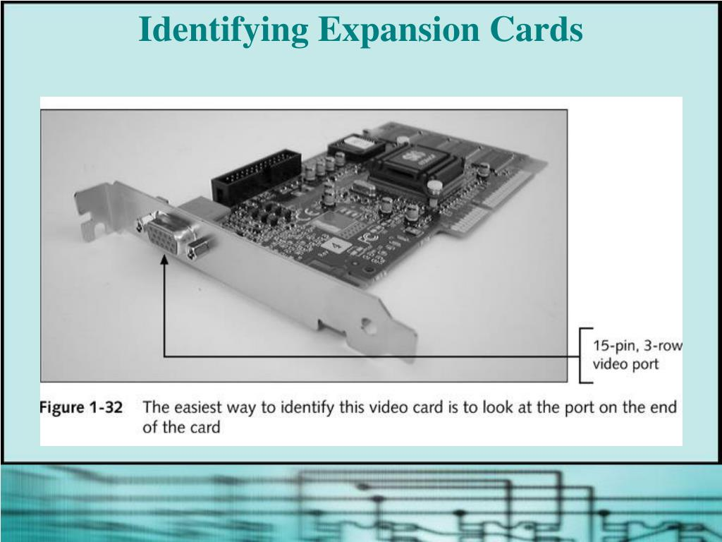 Identifying Expansion Cards