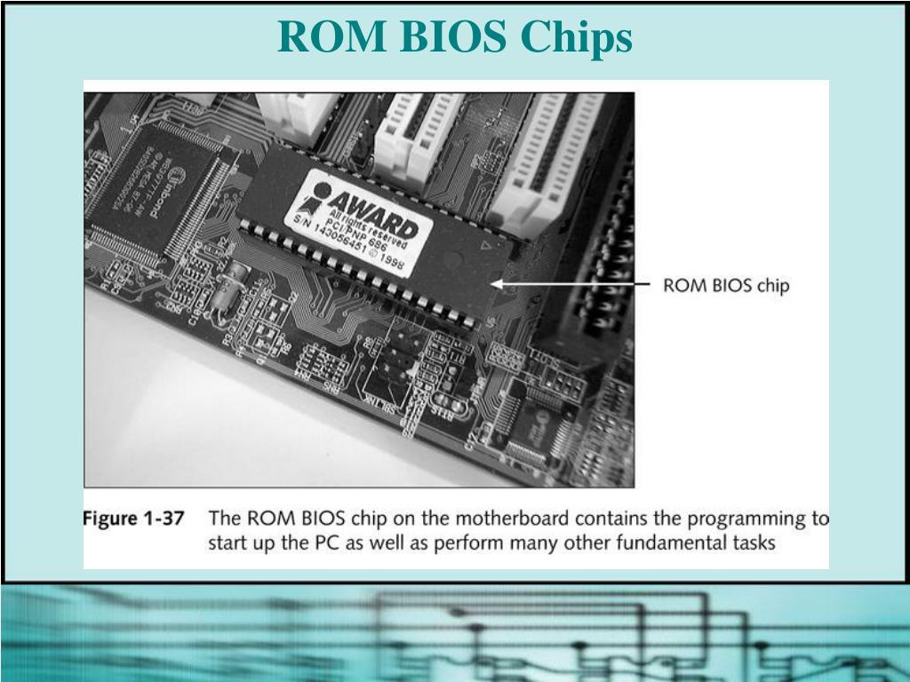 ROM BIOS Chips