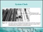 system clock44