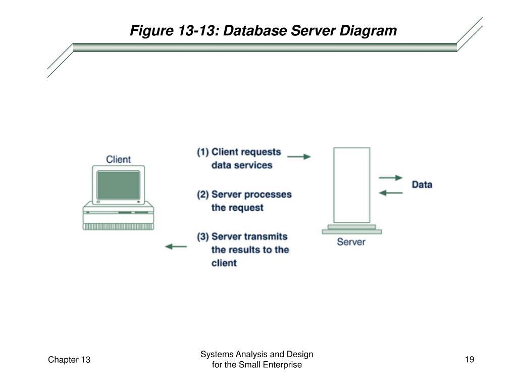 Figure 13-13: Database Server Diagram