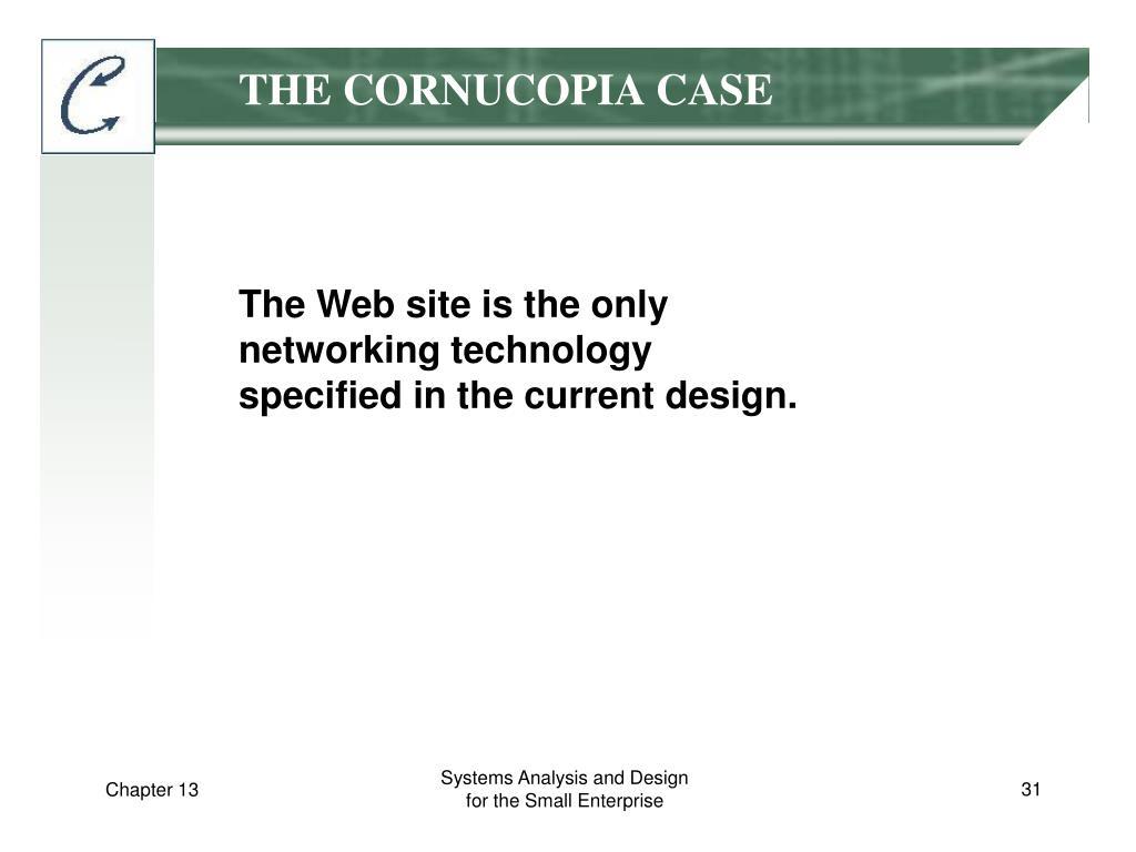 THE CORNUCOPIA CASE