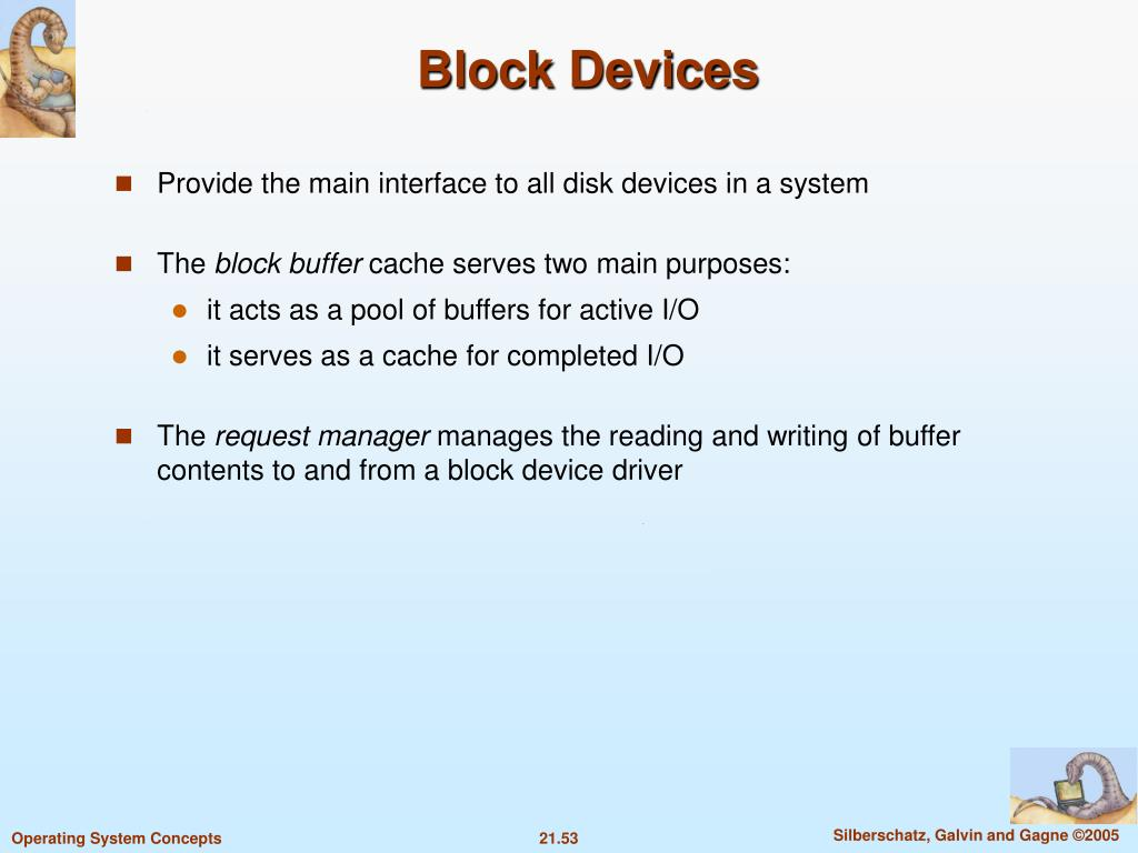 Block Devices