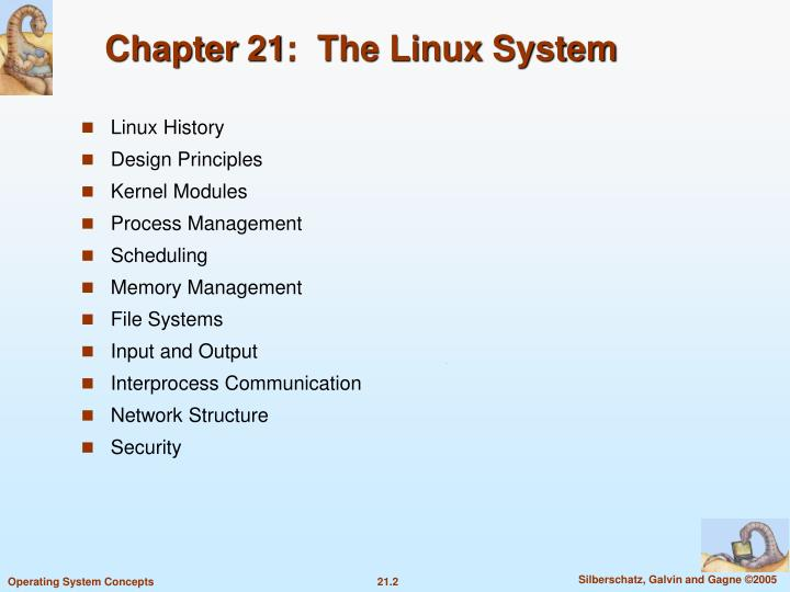 Chapter 21 the linux system2