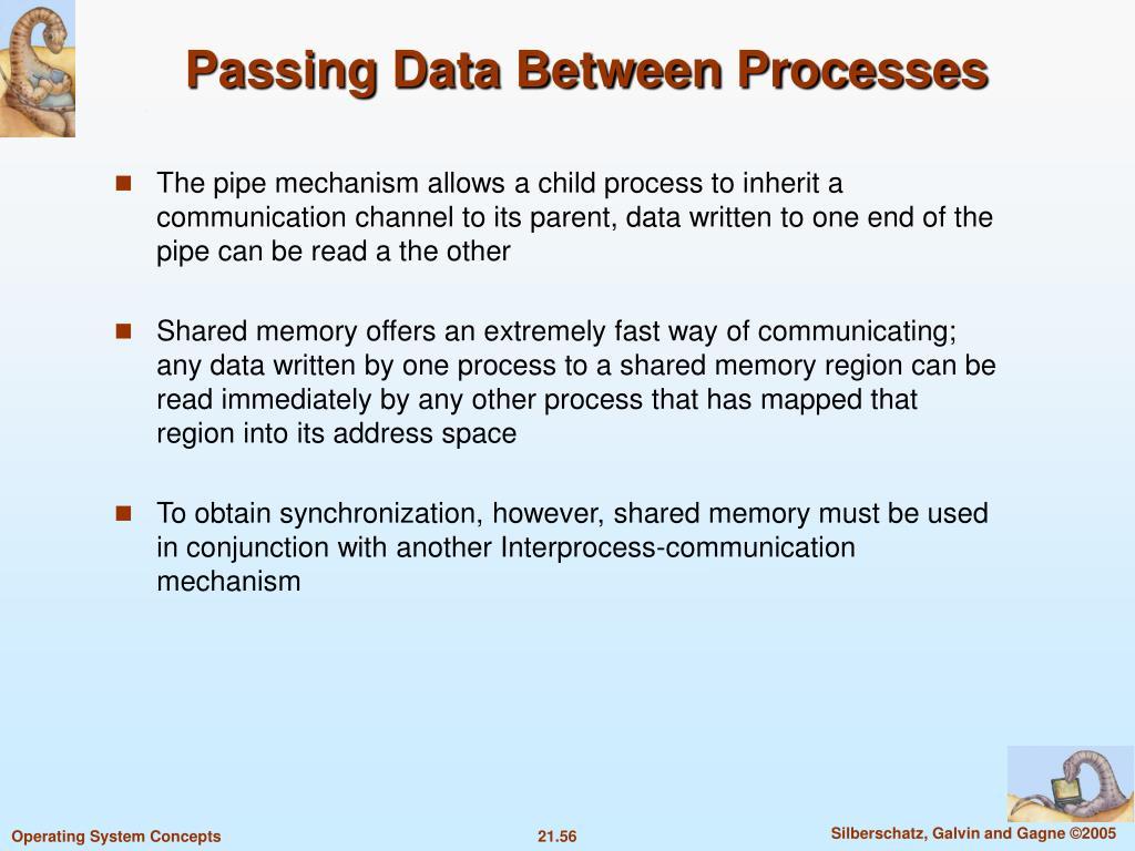 Passing Data Between Processes
