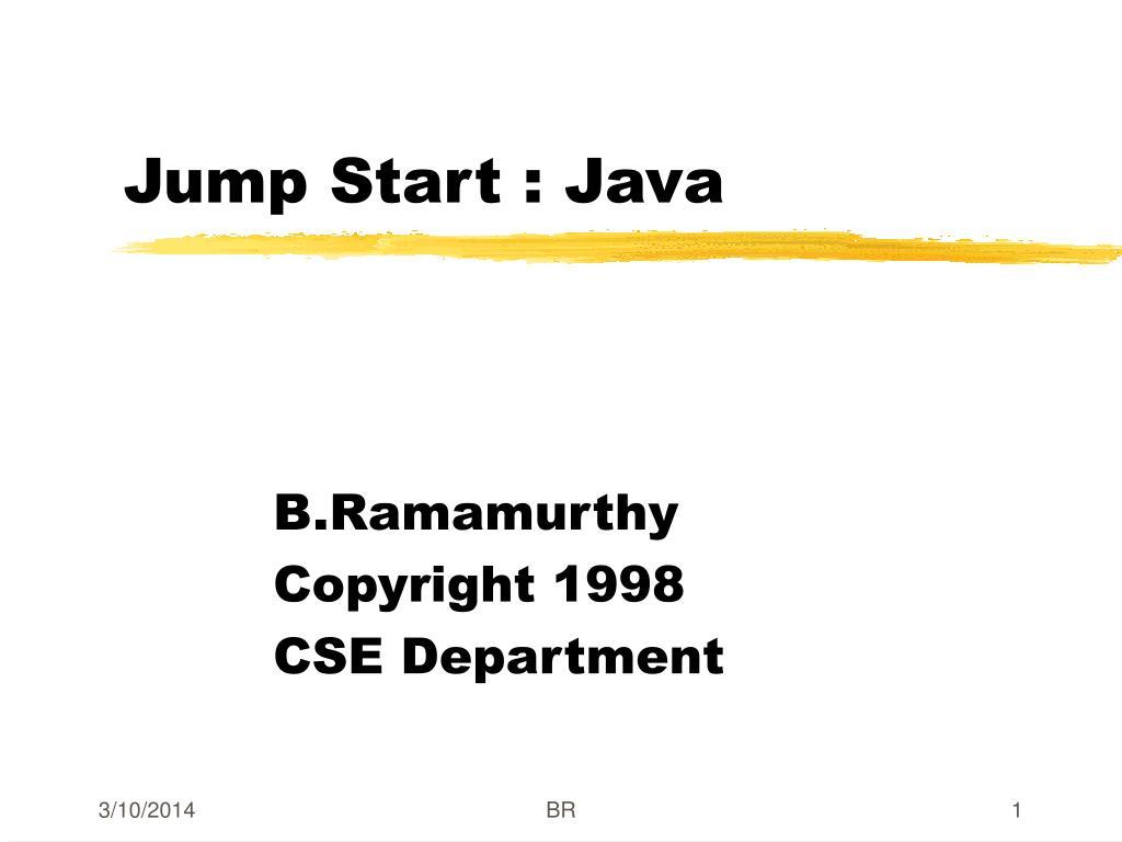 jump start java l.