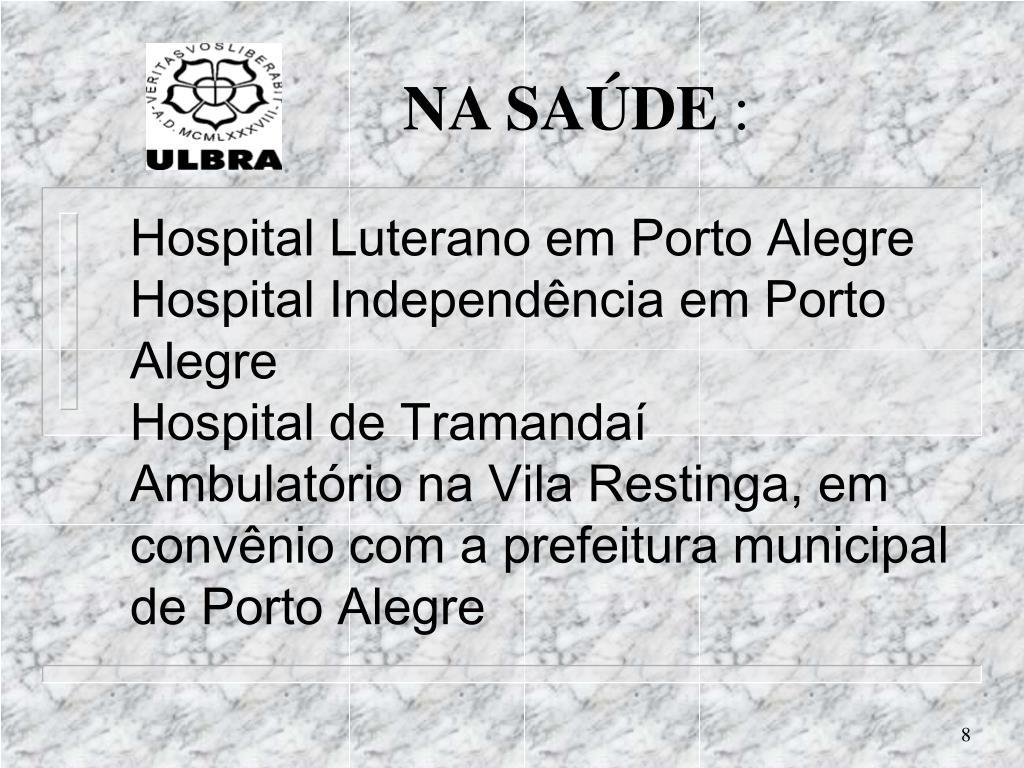 Hospital Luterano em Porto Alegre