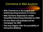 commerce web auctions