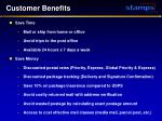 customer benefits