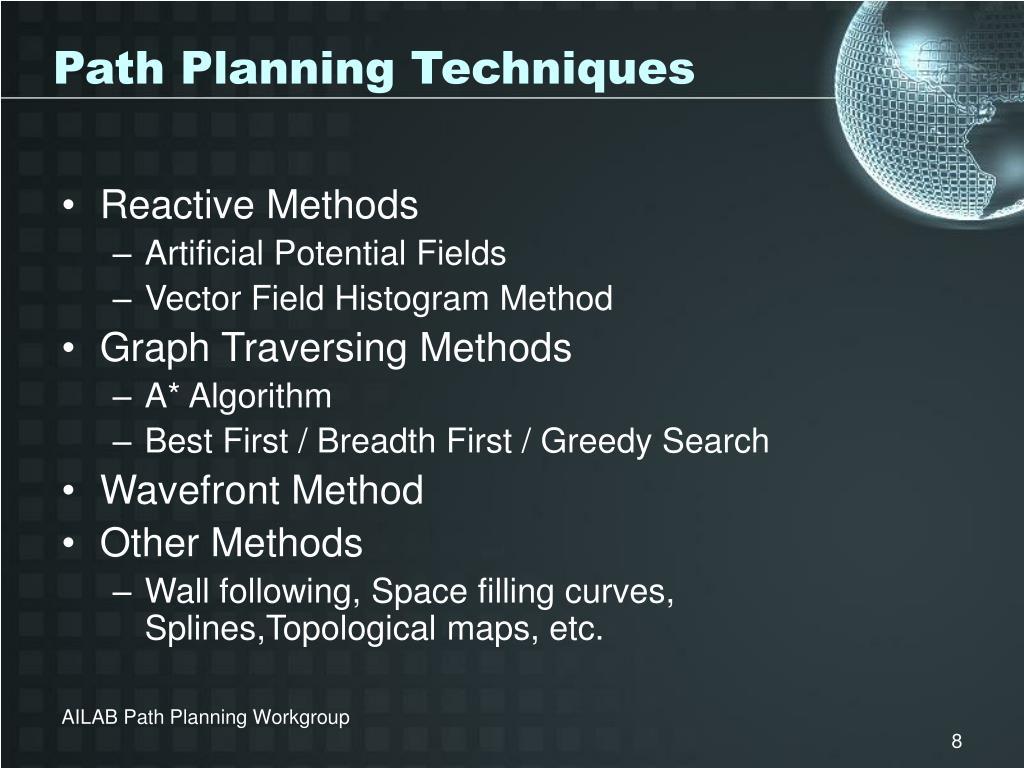 Path Planning Techniques