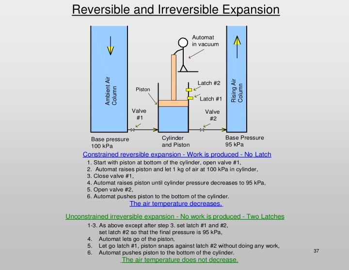 Reversible and Irreversible Expansion