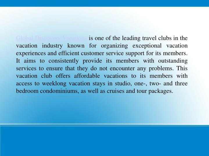Global Discovery Vacations