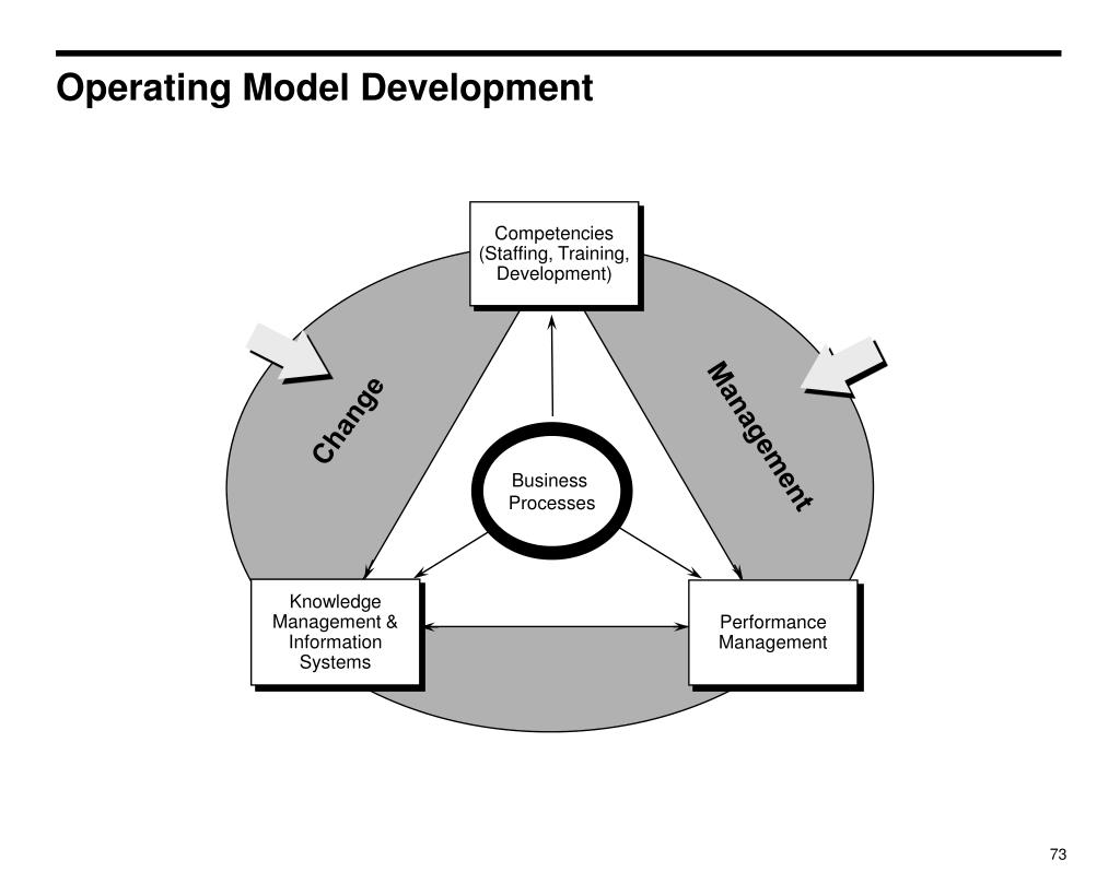 Operating Model Development