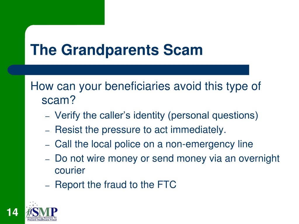 The Grandparents Scam