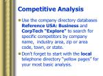 competitive analysis24
