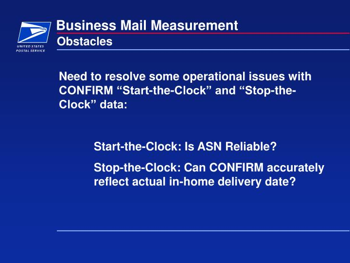 Business mail measurement3