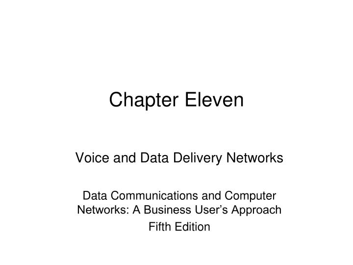 chapter eleven n.