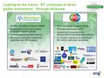 looking to the future bt continues to drive global momentum through alliances