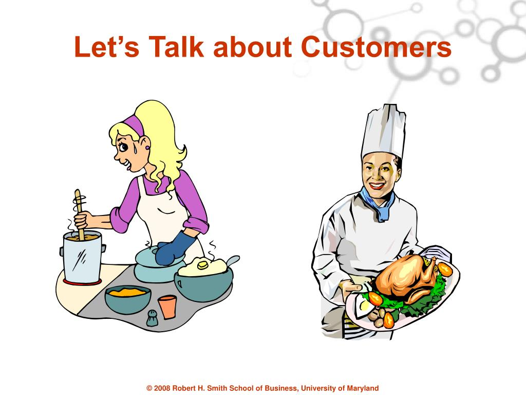 Let's Talk about Customers