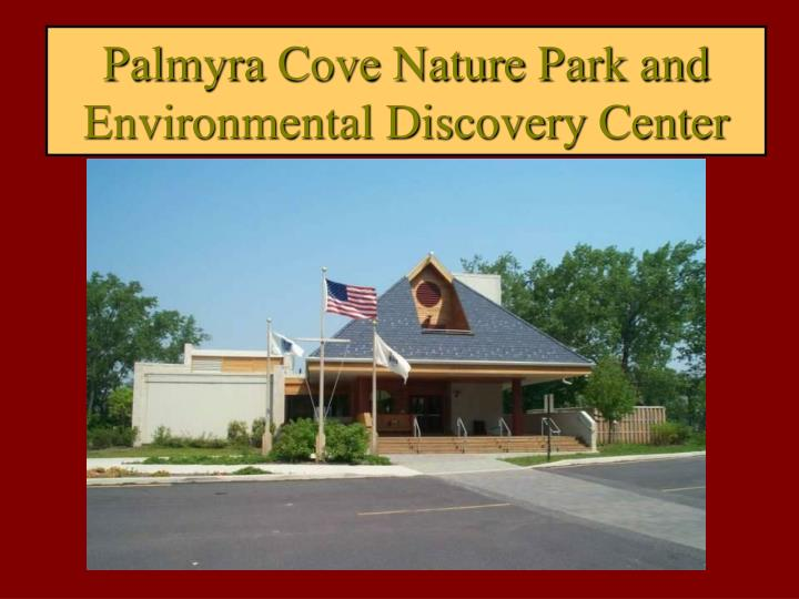 palmyra cove nature park and environmental discovery center n.