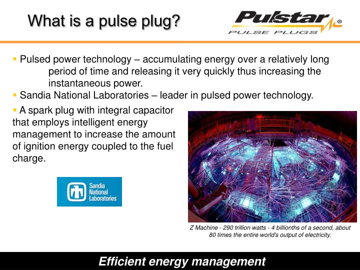 What is a pulse plug?