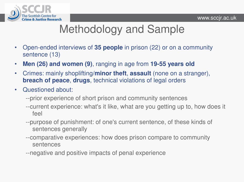 Methodology and Sample