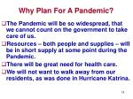 why plan for a pandemic18