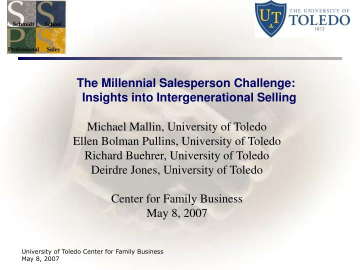 The millennial salesperson challenge insights into intergenerational selling