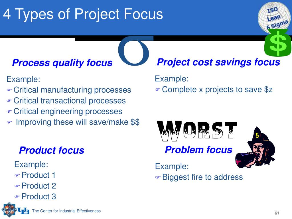 4 Types of Project Focus