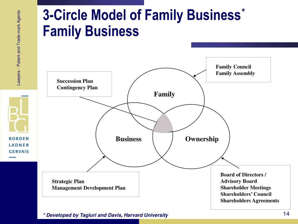 3-Circle Model of Family Business