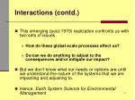 interactions contd2