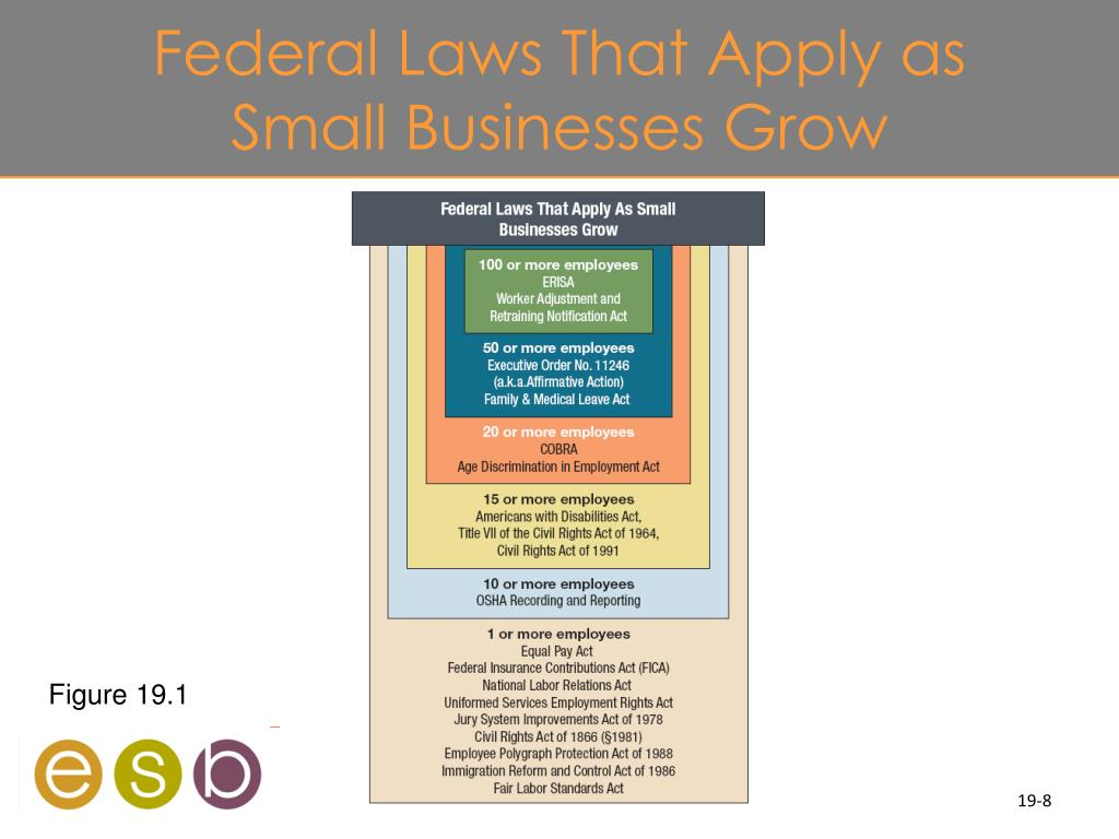 Federal Laws That Apply as